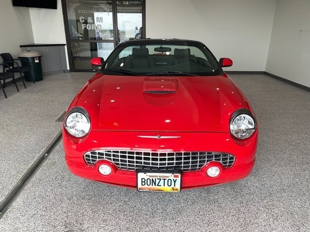 Used 2002 Ford Thunderbird Premium with VIN 1FAHP60A02Y126721 for sale in Roseau, Minnesota