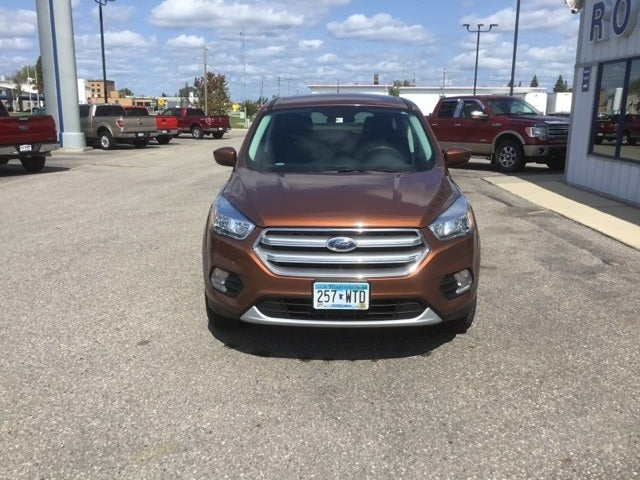 Used 2017 Ford Escape SE with VIN 1FMCU9GD2HUD41978 for sale in Roseau, Minnesota