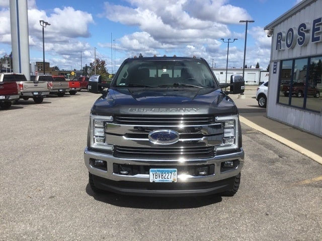 Used 2019 Ford F-350 Super Duty Lariat with VIN 1FT8W3BT6KEE28087 for sale in Roseau, Minnesota