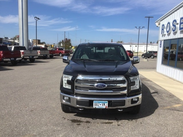 Used 2017 Ford F-150 XL with VIN 1FTFW1EG2HFA98512 for sale in Roseau, Minnesota