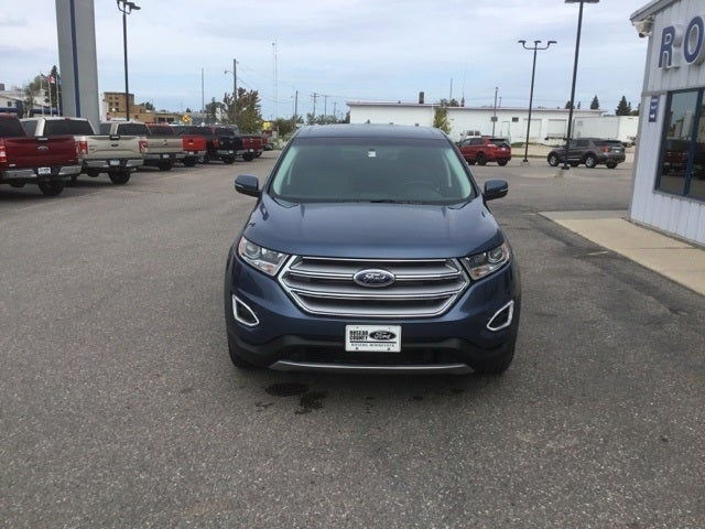 Used 2018 Ford Edge SEL with VIN 2FMPK4J84JBC55766 for sale in Roseau, Minnesota