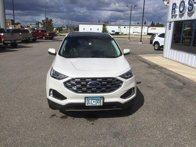 Used 2019 Ford Edge Titanium with VIN 2FMPK4K99KBB76344 for sale in Roseau, Minnesota