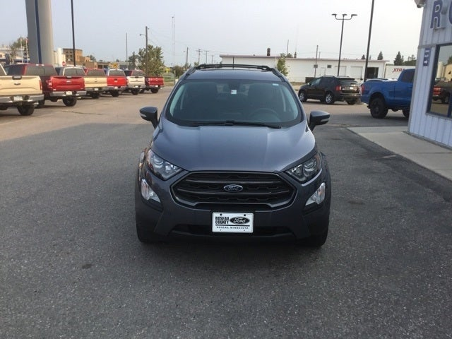 Used 2018 Ford Ecosport SES with VIN MAJ6P1CLXJC216171 for sale in Roseau, Minnesota